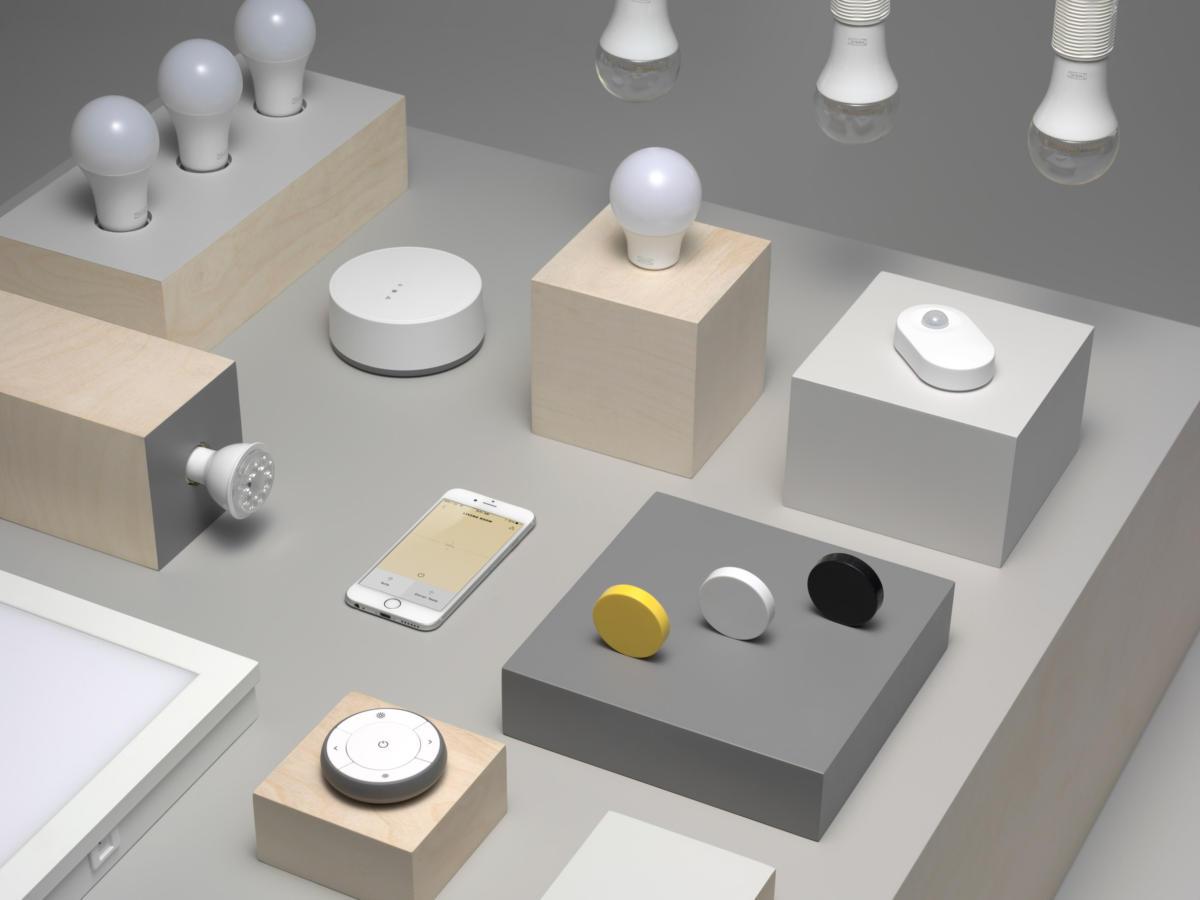 Компания ИКЕА представила линейку «умного» освещения