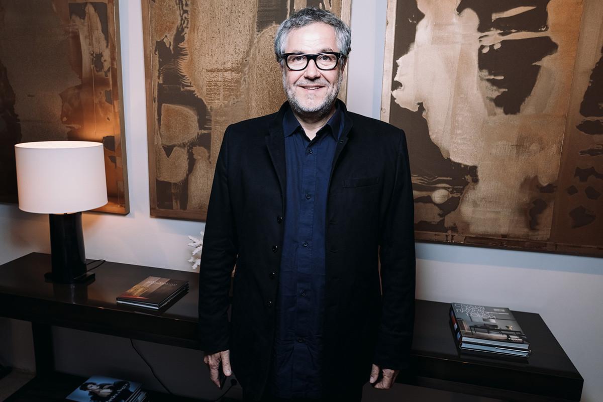 18 апреля известный французский художник открыл выставку в Москве