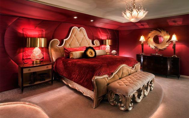 Спальня в  .  Спальня в  стиле:   Классика.