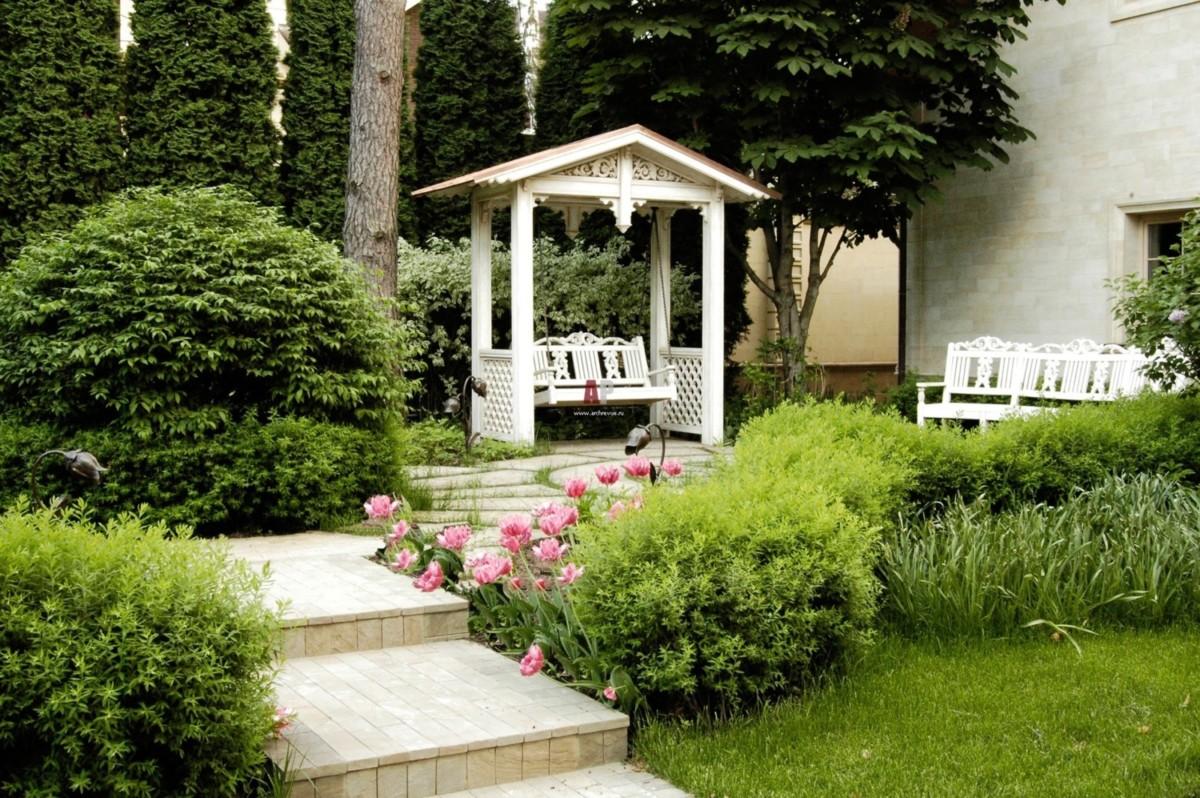 Садовые качели: 20 лучших идей