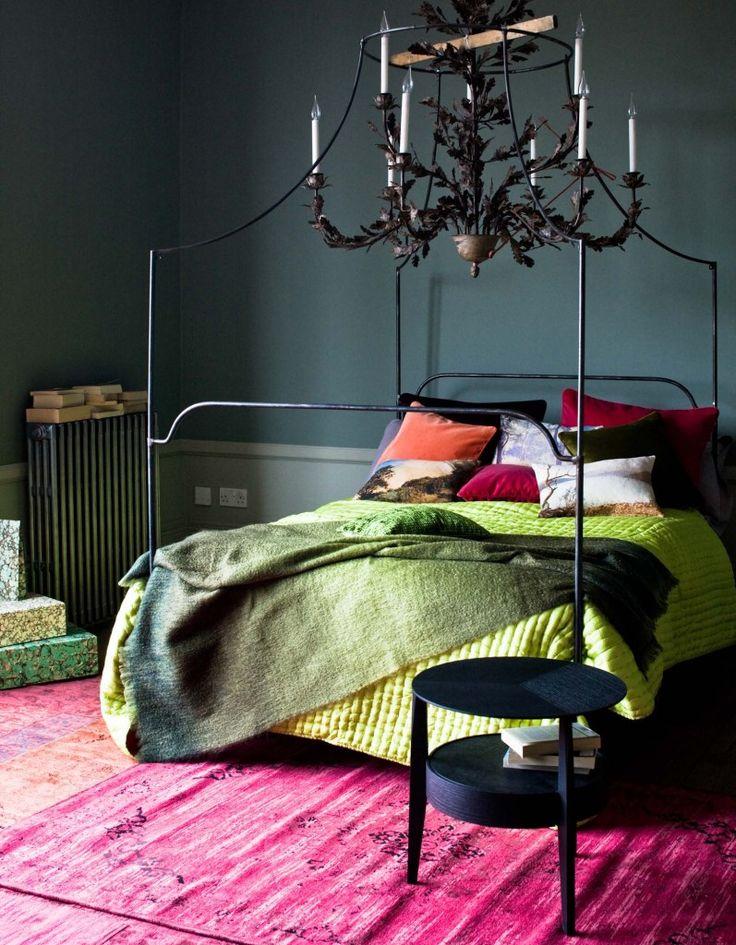 Спальня в  .  Спальня в  стиле:   Эклектика.
