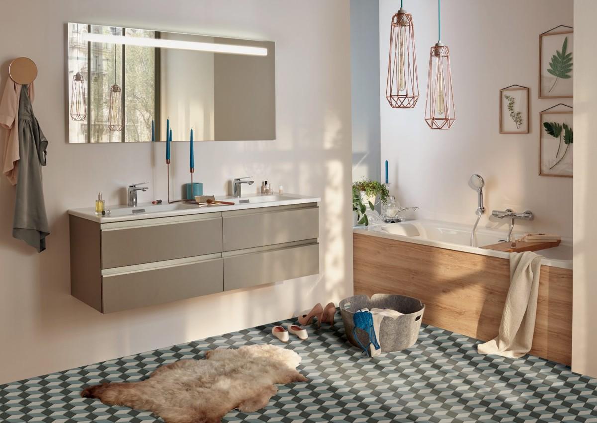 Дизайн ванной комнаты: 5 роскошных вариантов