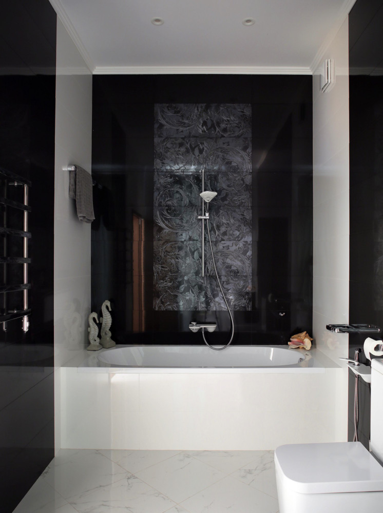 Ванная в  .  Ванная в  стиле:   Минимализм.