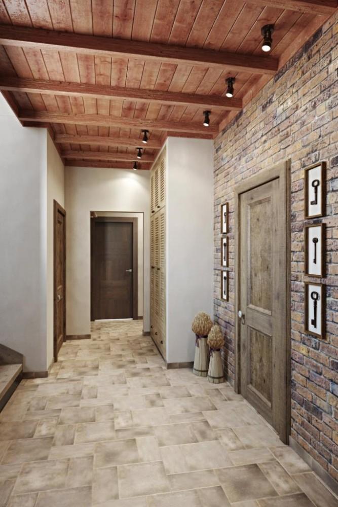 Используя природные материалы - получается гармоничное, умиротворяющие пространство. Различные породы древесины, известь, глина - вот формула комфорта