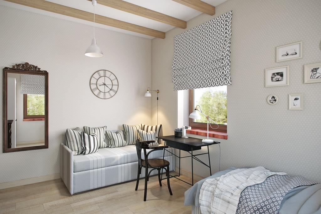 Очень люблю такие спальные места, которые днем превращаются в комфортный диванчик
