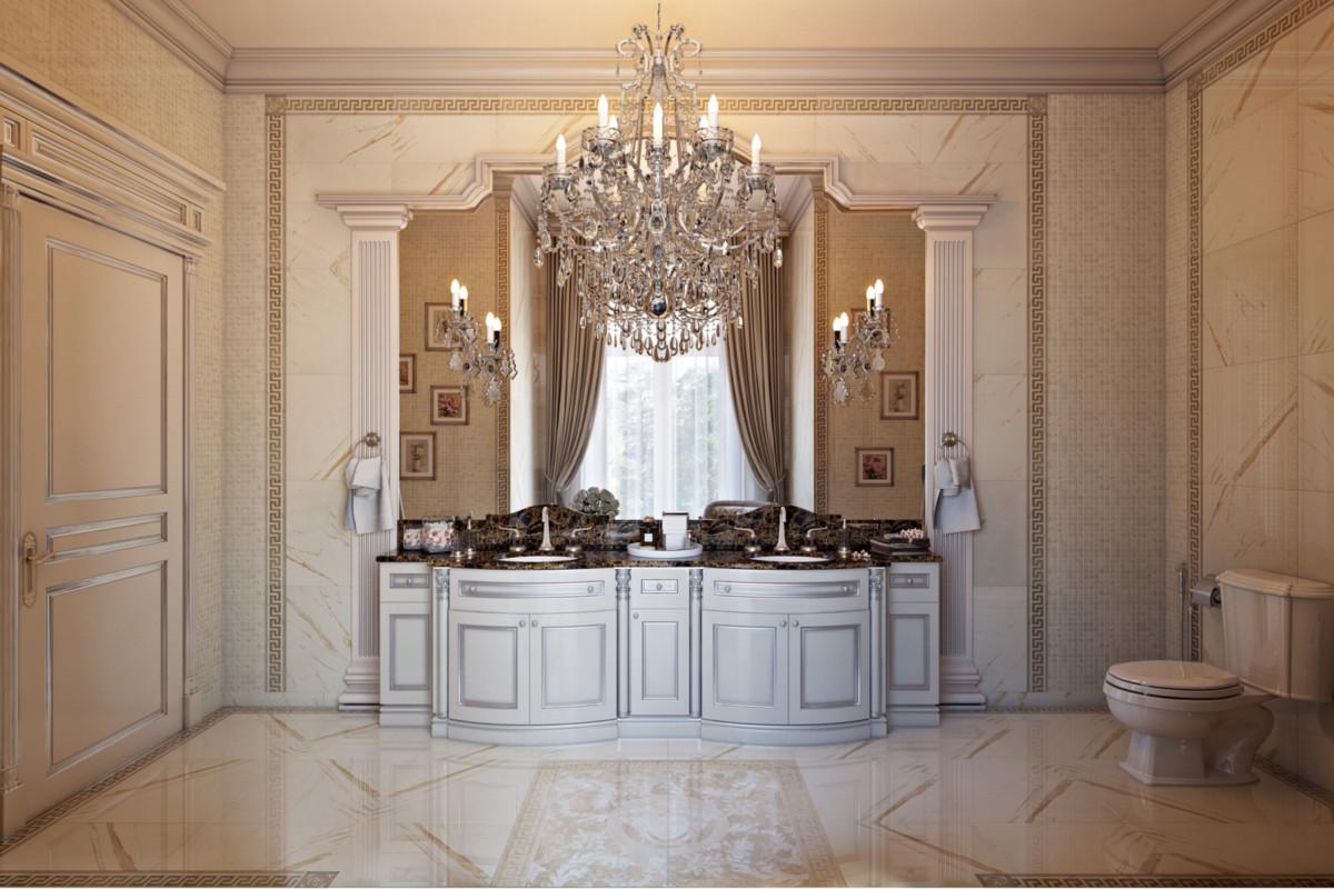 Отделка стен: декоративная штукатурка, лепной декор, деревянные панели, панели из кожи.