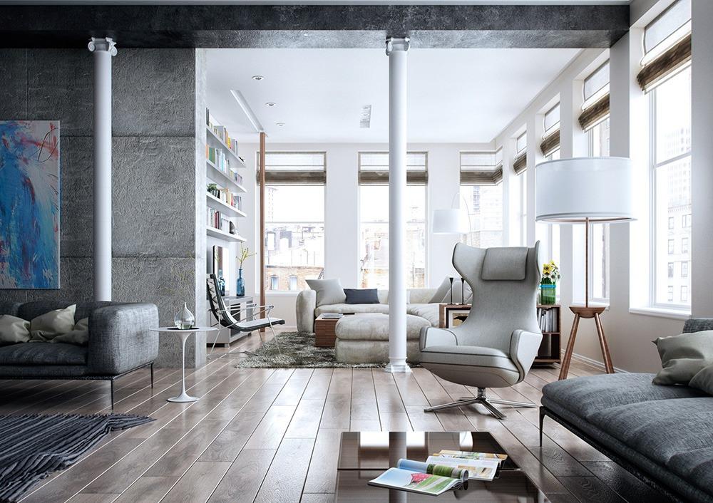 Весенняя уборка в нестандартной квартире: советы от профи