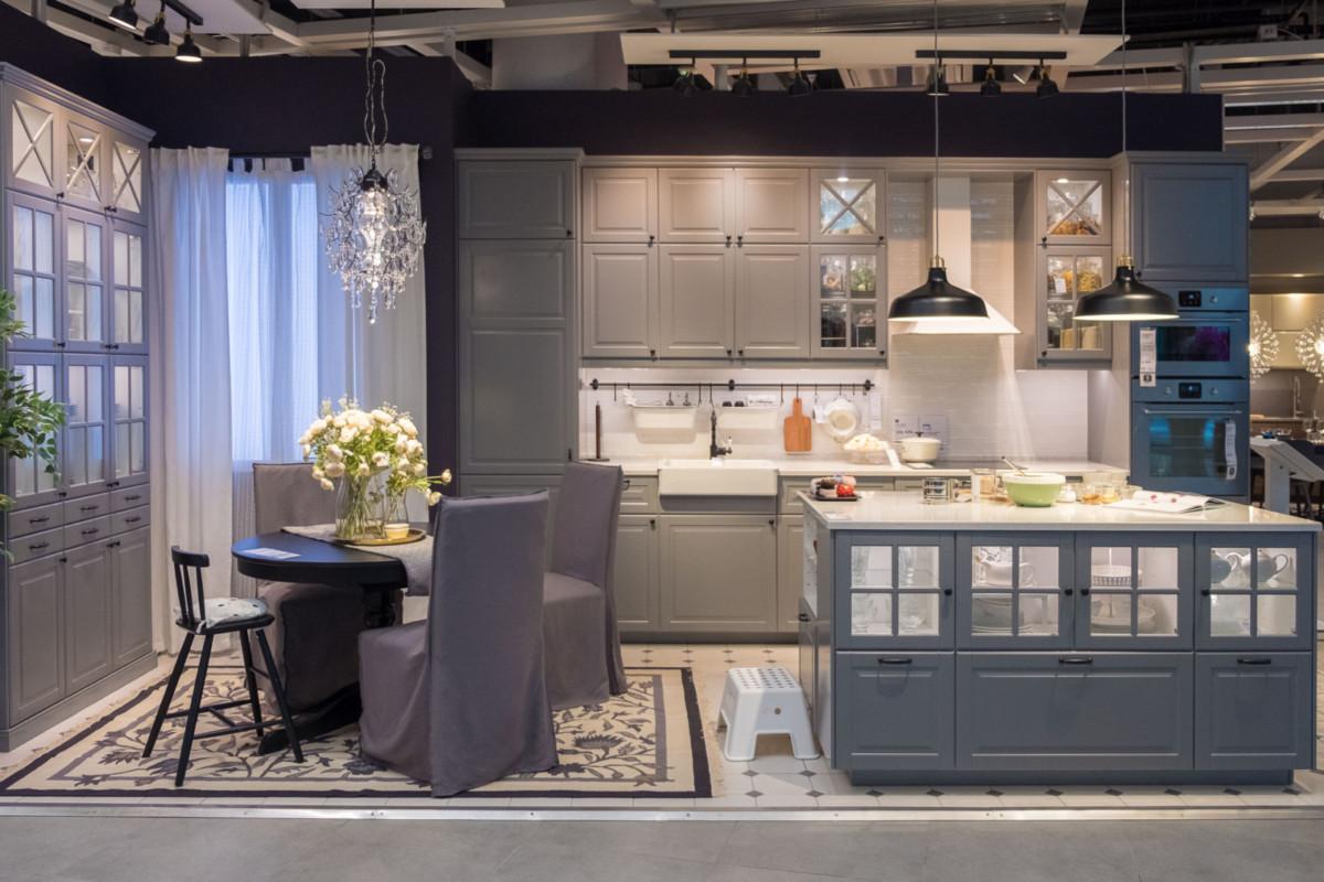ИКЕА открыла первую в России дизайн-студию кухонь и гардеробов