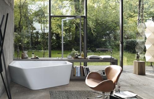 Природа в вашей ванной: 17 идей, которые избавят вас от стресса