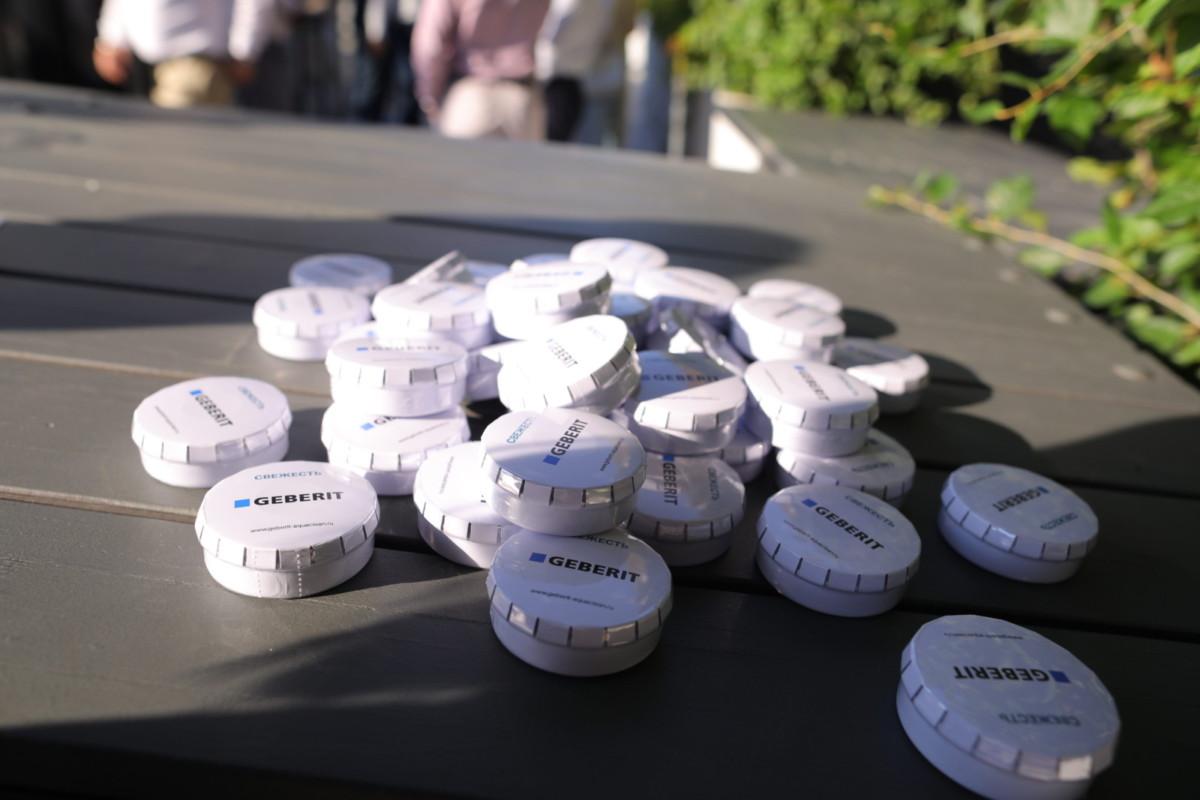2 августа в ресторане «Шёлк» прошло мероприятие компании Geberit