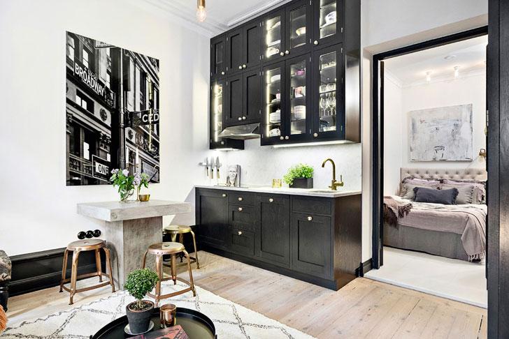 Дизайн квартиры площадью 28 метров