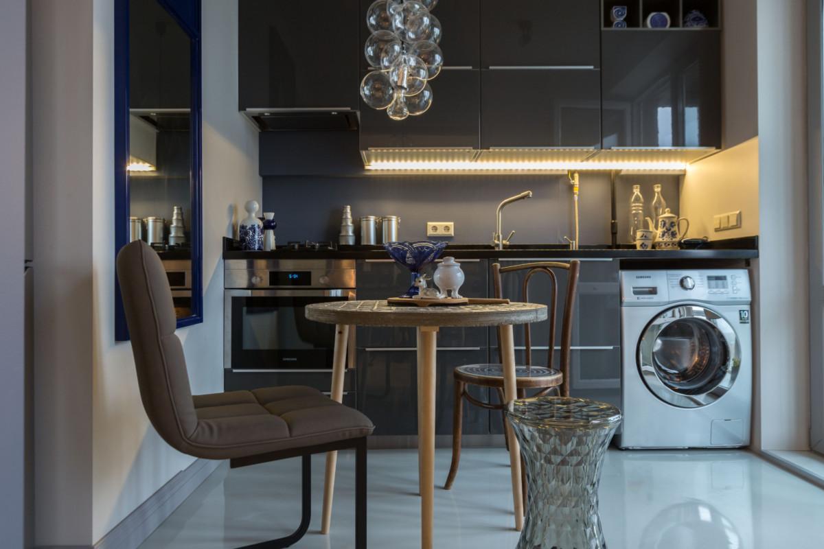 Дизайн квартиры площадью 38 метров для одинокой женщины