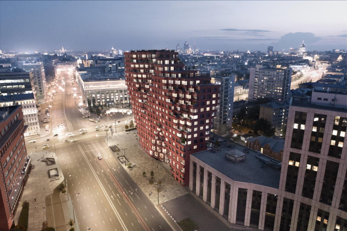 На Садовом кольце появится комплекс апартаментов