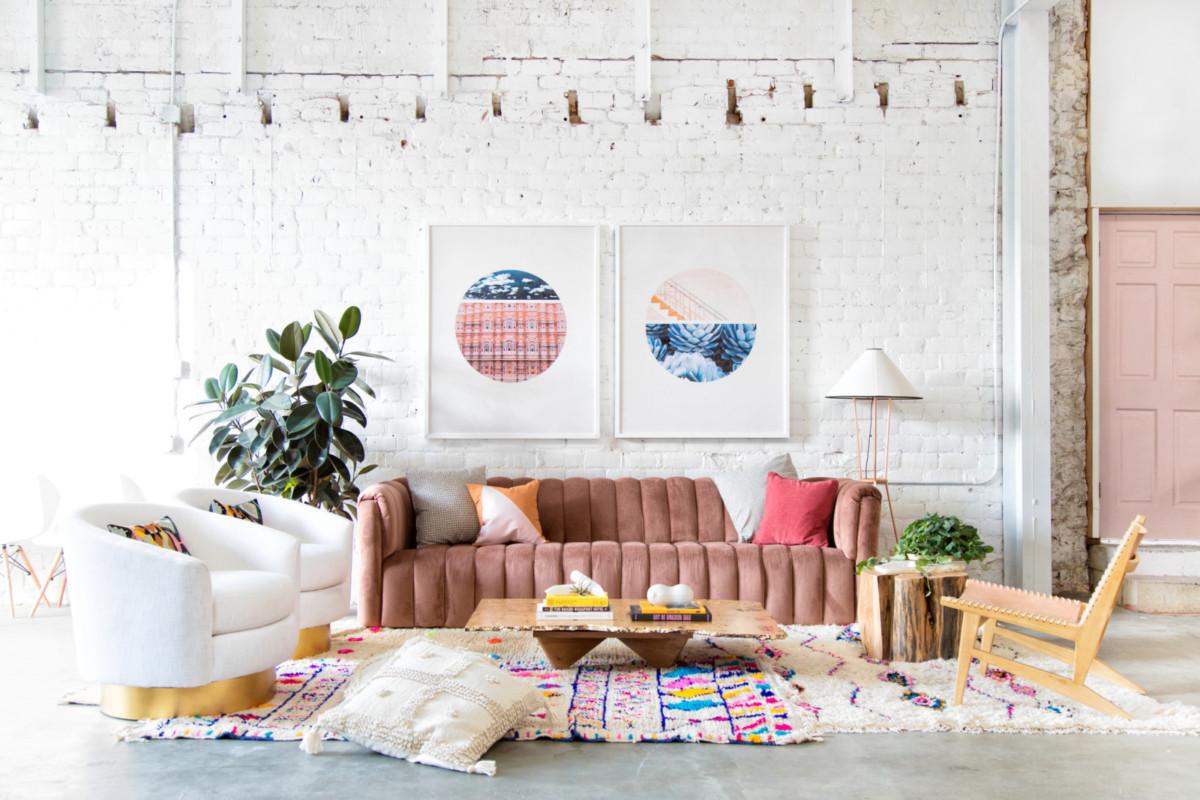 Модные цвета и оттенки в дизайне интерьера — 2019
