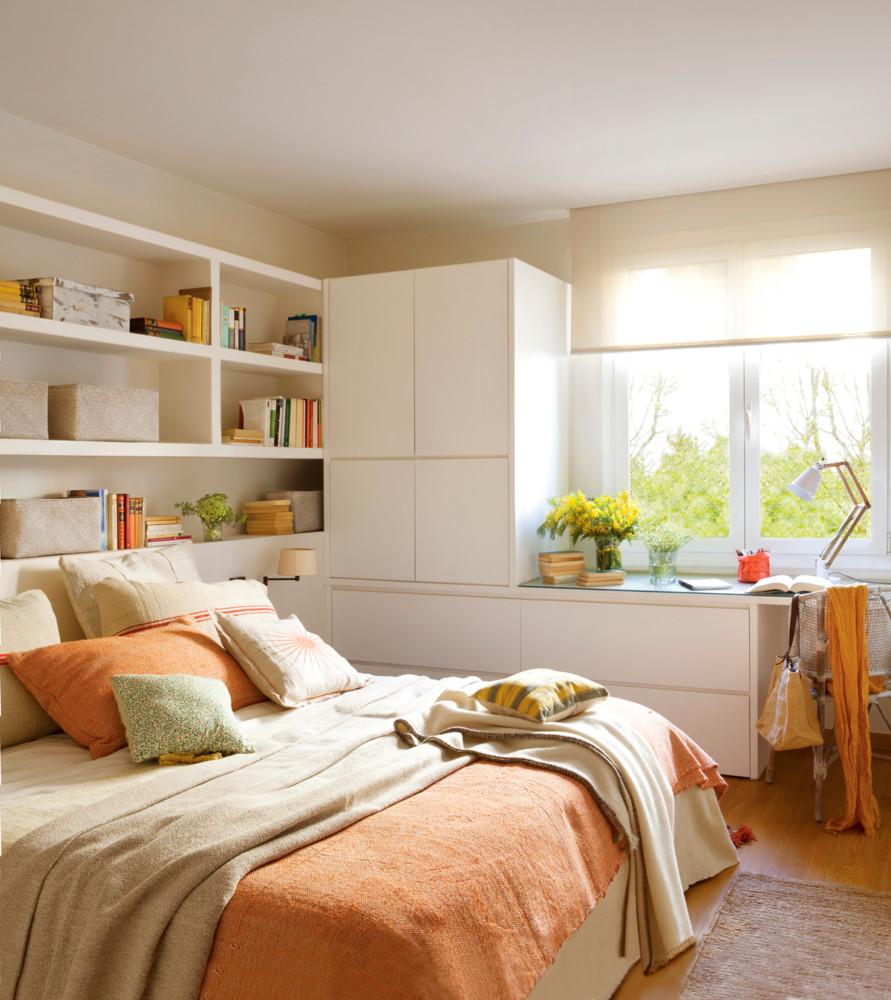 10 гениальных идей для хранения в спальне