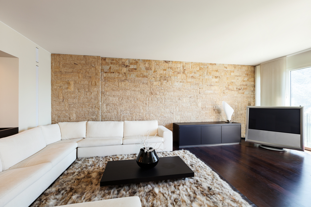 25 идей оформления стен под кирпич и камень + инструкция по отделке