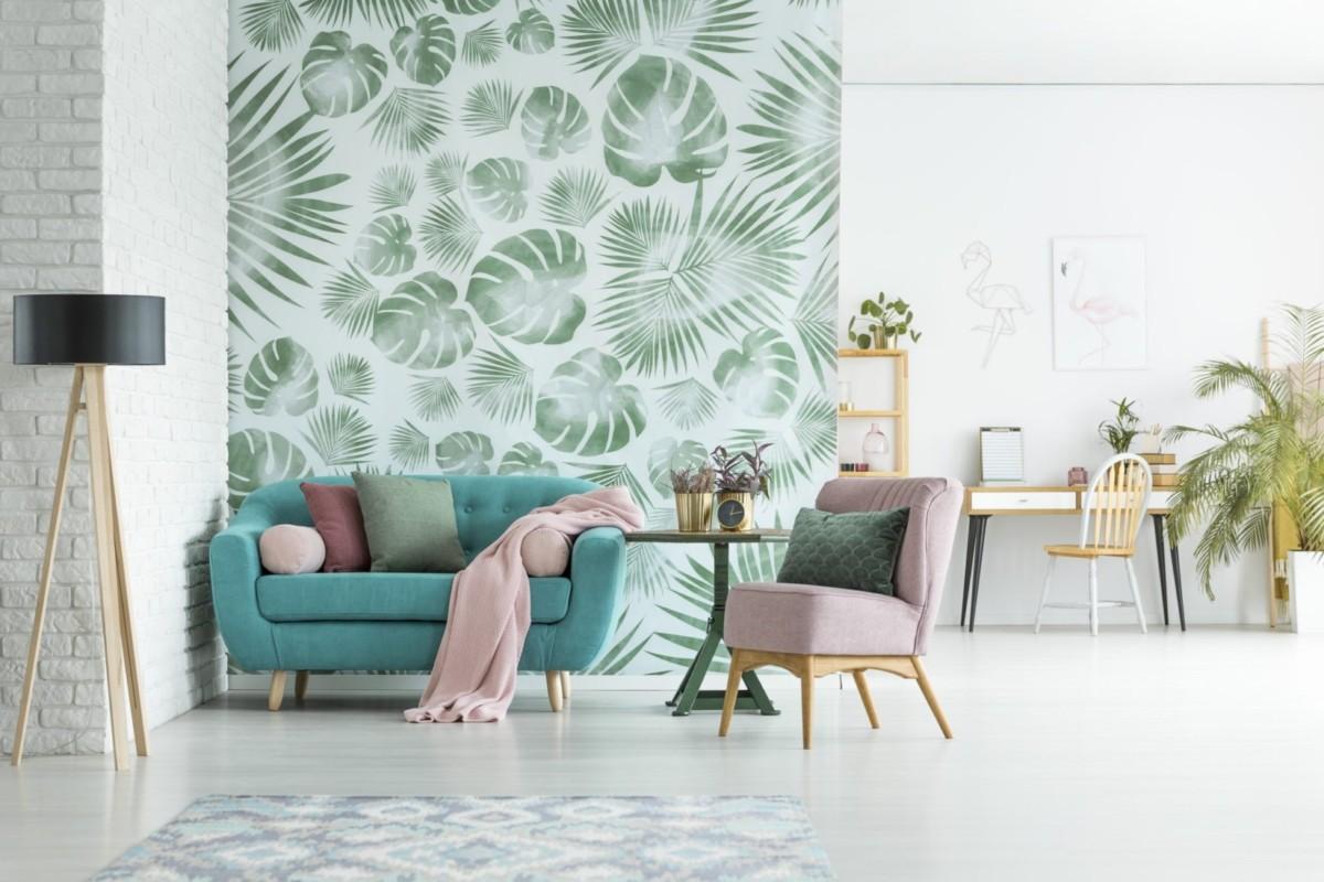 Стильные обои для квартиры и как их клеить: 32 фото и советы
