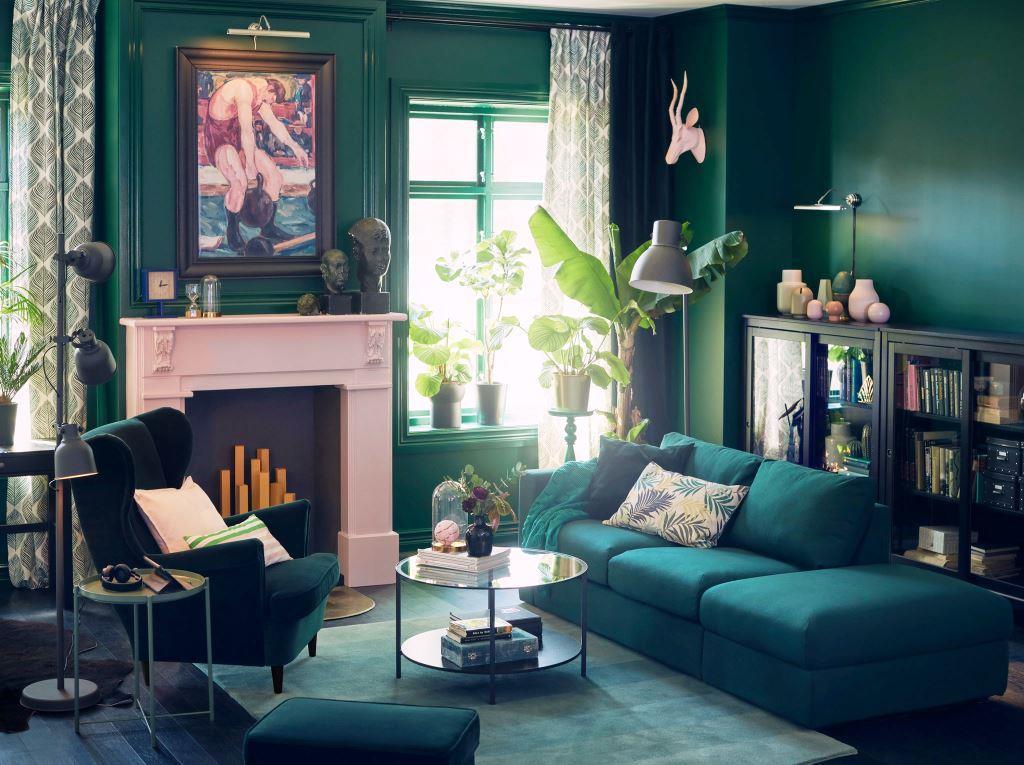 Изумрудный цвет в интерьере: 10 шагов к созданию модной атмосферы