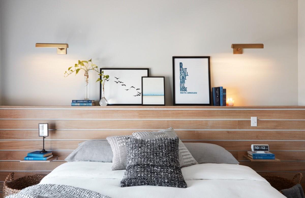 Чем украсить стену над кроватью: 6 новых вариантов