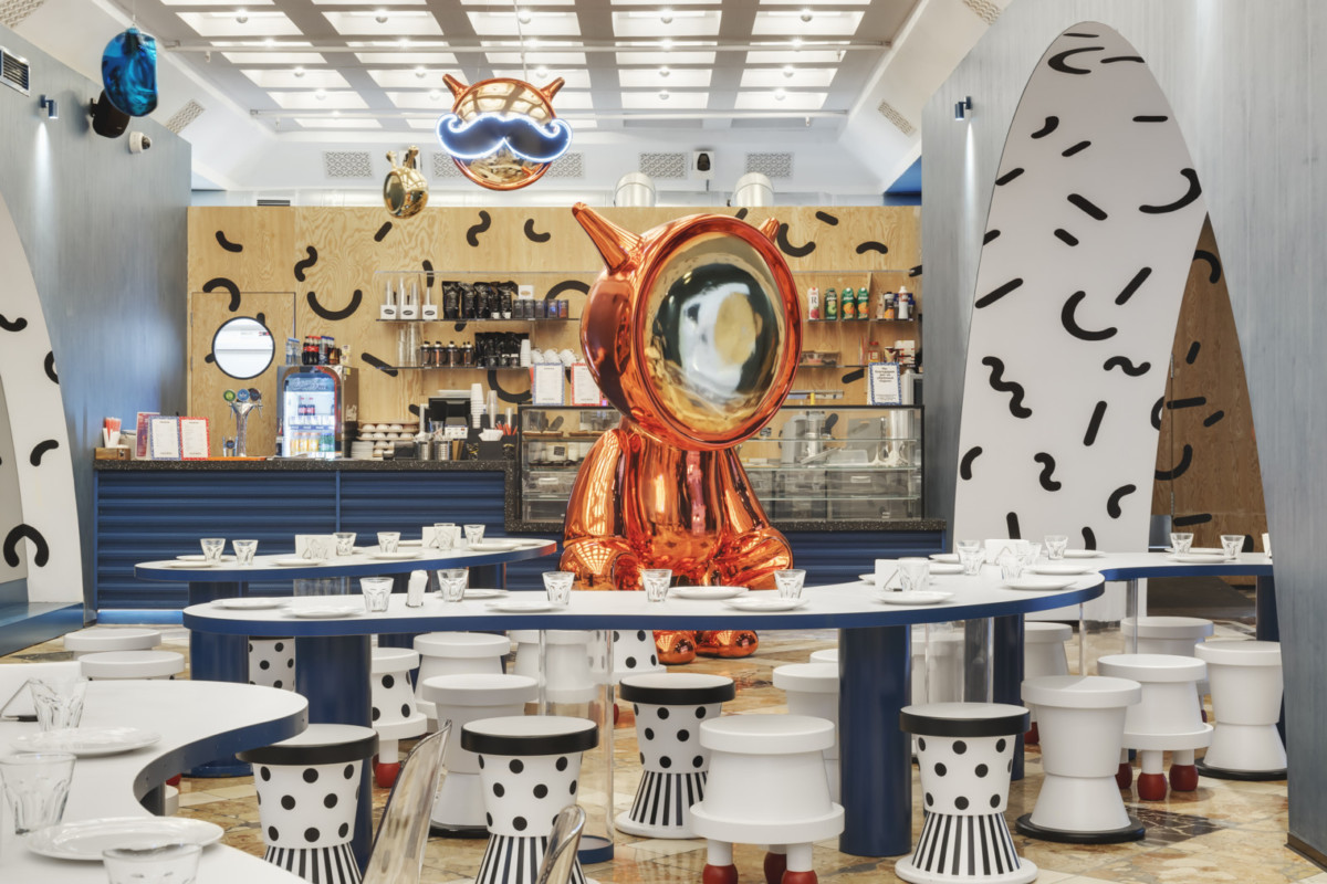 В павильоне ВДНХ открылось кафе «Космос»
