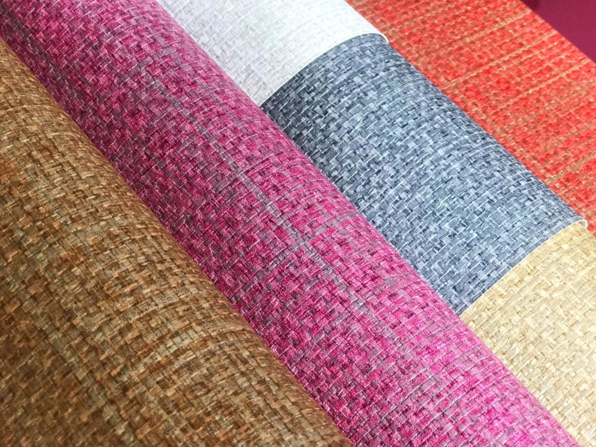 Текстура твидовой ткани теперь доступна на обоях