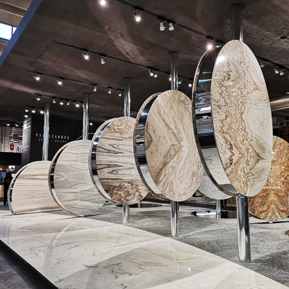 Лучший мрамор на свете: репортаж с самой красивой выставки мрамора