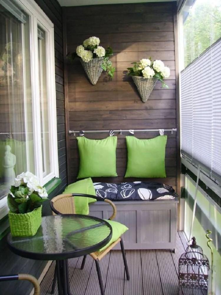 Идеи для балкона: 30 поводов обновить интерьер лоджии