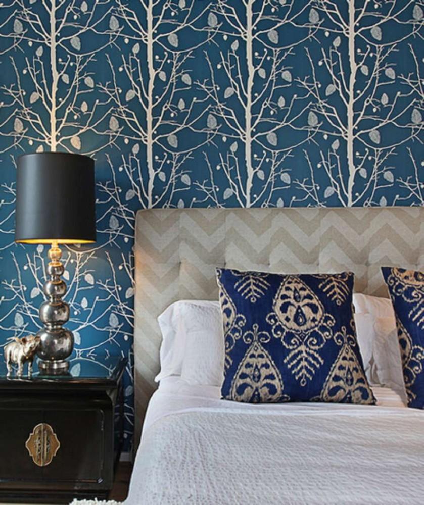 Какие обои выбрать для спальни: 20 идей для вдохновения