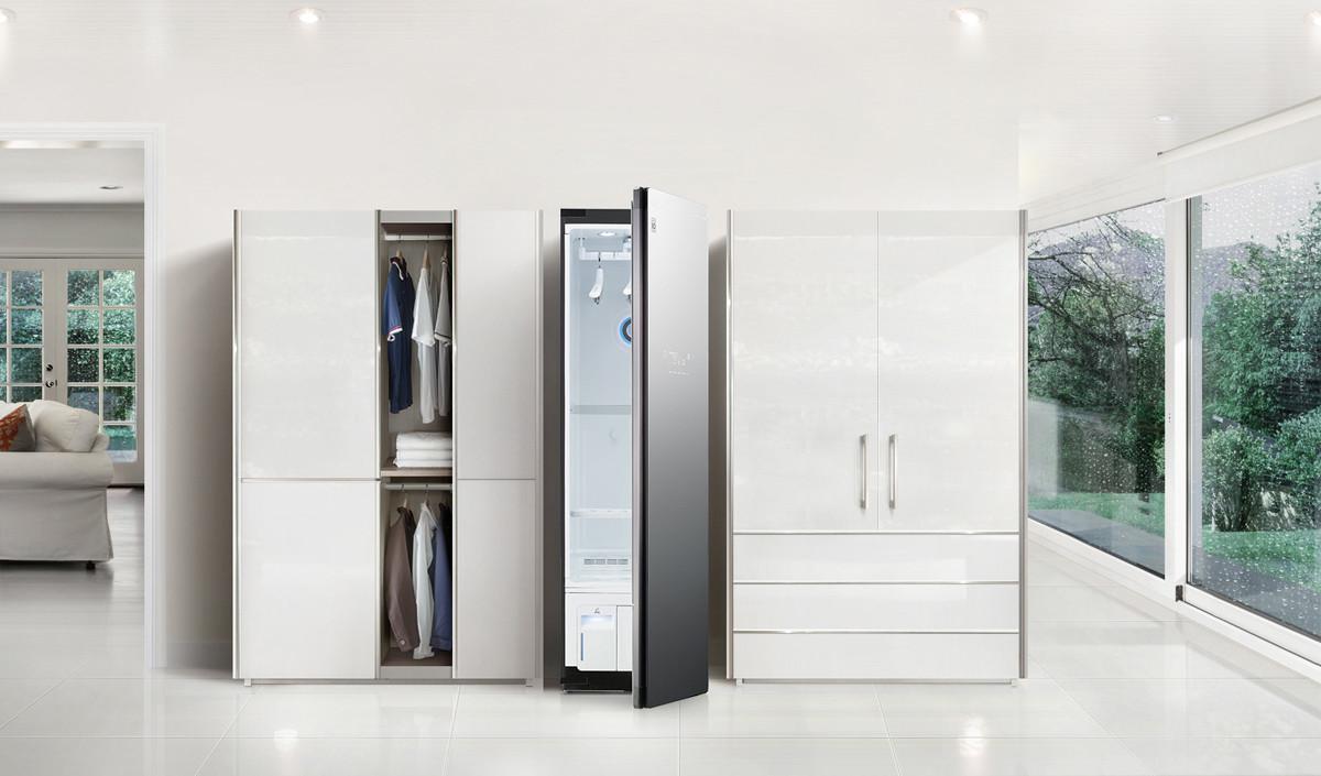 LG Electronics представила новую модель системы ухода за одеждой