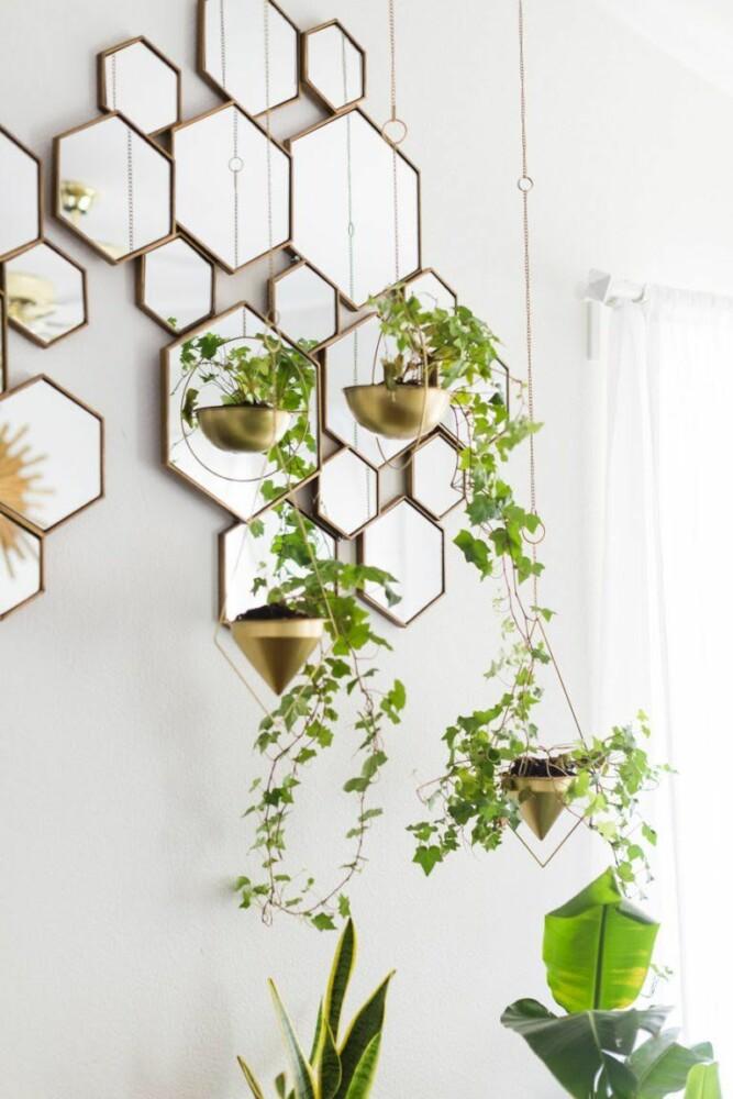 Домашний сад: как стильно украсить интерьер растениями