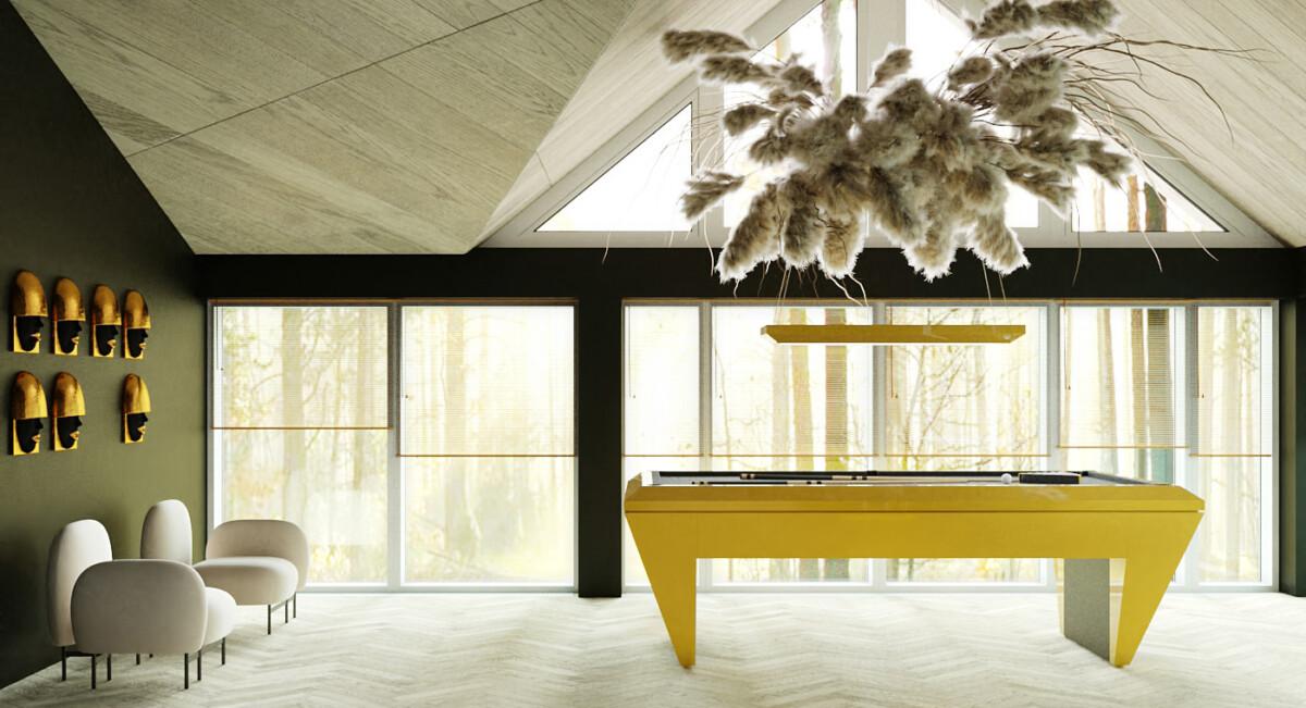 Дом для проживания семьи. Микс современного, классического и эклектики.