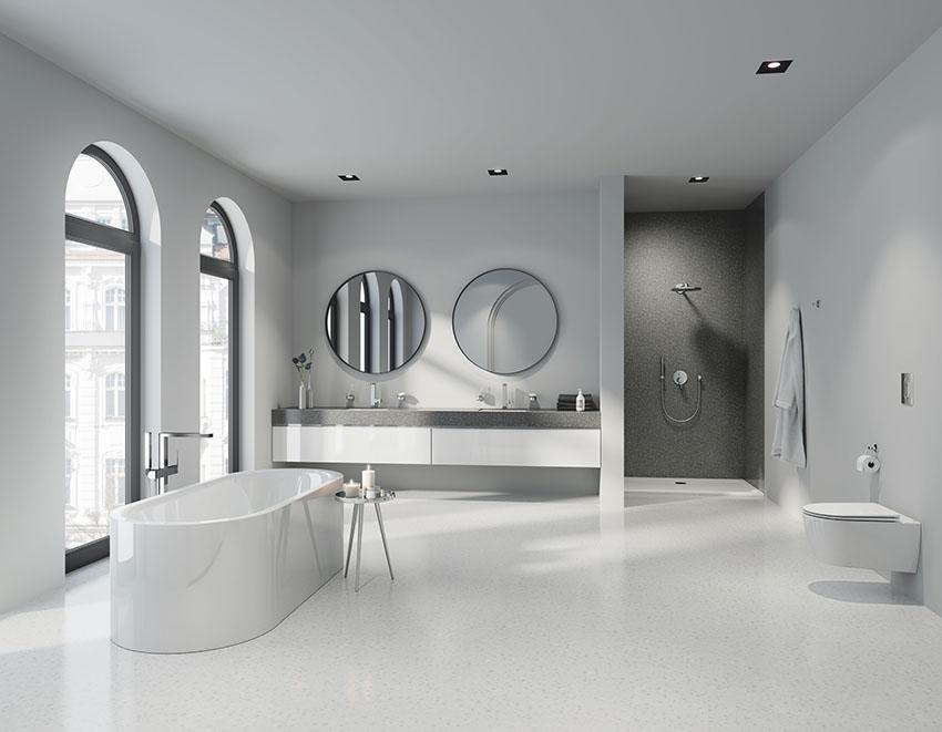 Компания Grohe представила новые варианты решений интерьера ванной Perfect Match