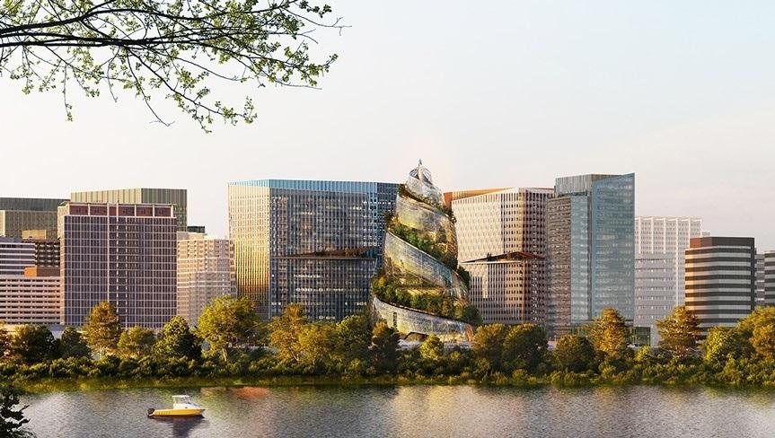 Как будет выглядеть новая штаб-квартира Amazon
