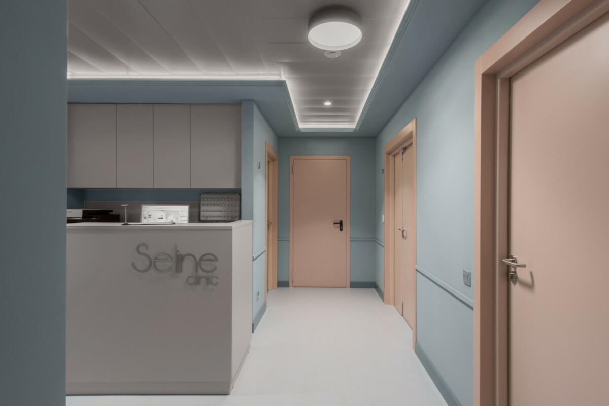 Архитектурное бюро Archpoint создало интерьер клиники премиум-класса Seline