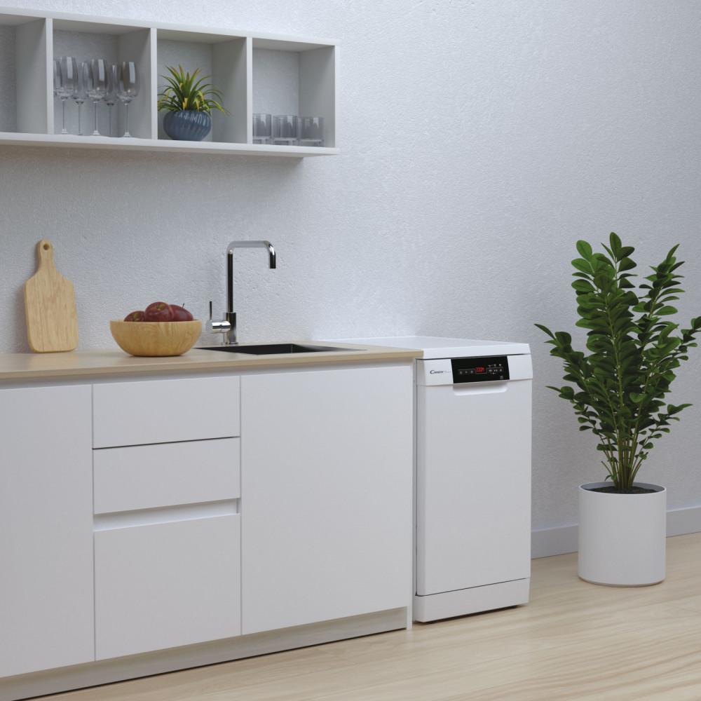 Candy выпустила четыре новые модели отдельно стоящих посудомоечных машин Brava