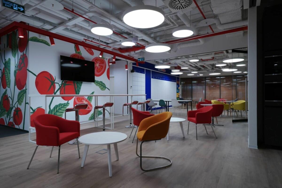 Компания Kraft Heinz перевела сотрудников в новый офис